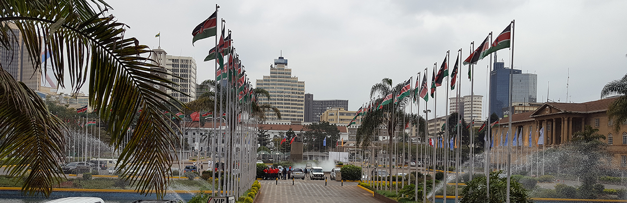 Courtyard, Kenyatta International Convention Centre